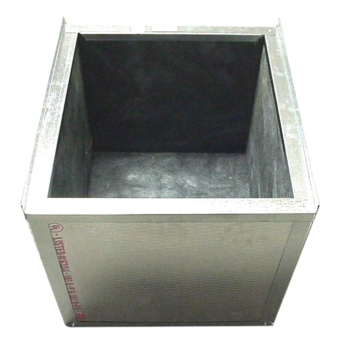 Air Handler Stand Boxed In Ready For Ducted Return