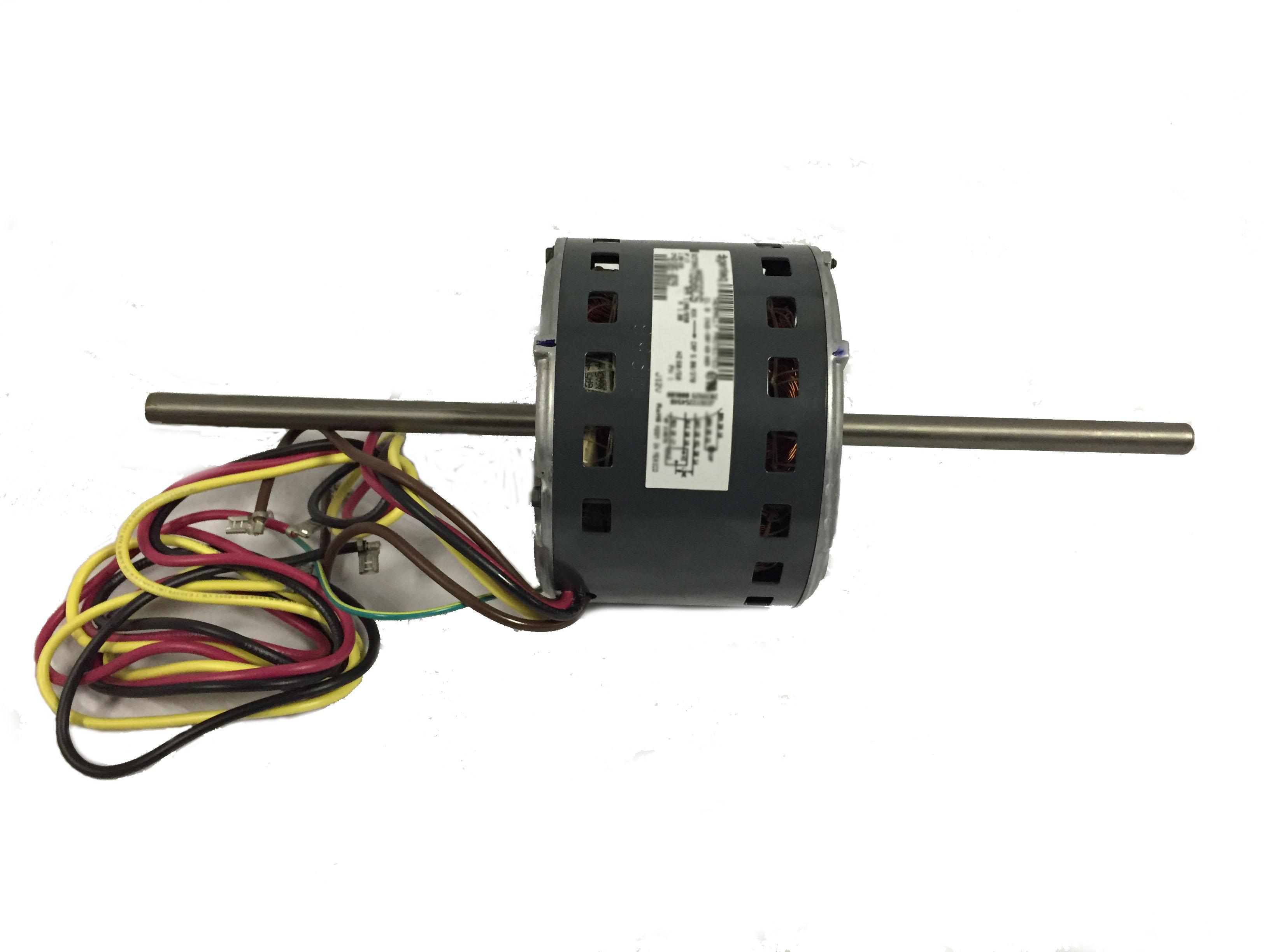 Double shaft fan blower motor 1 6hp 1075rpm 3 speed 208 230v for Blower motor mounting bracket