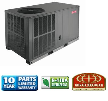 2 5 ton goodman 14 seer heat pump r 410a package unit. Black Bedroom Furniture Sets. Home Design Ideas