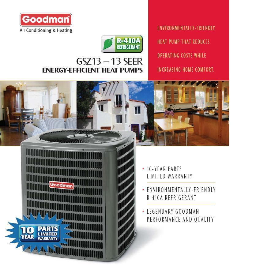 Torrington Gas Prices Among Lowest In Region: 2 Ton Goodman 13 Seer Heat Pump Condenser GSZ130241