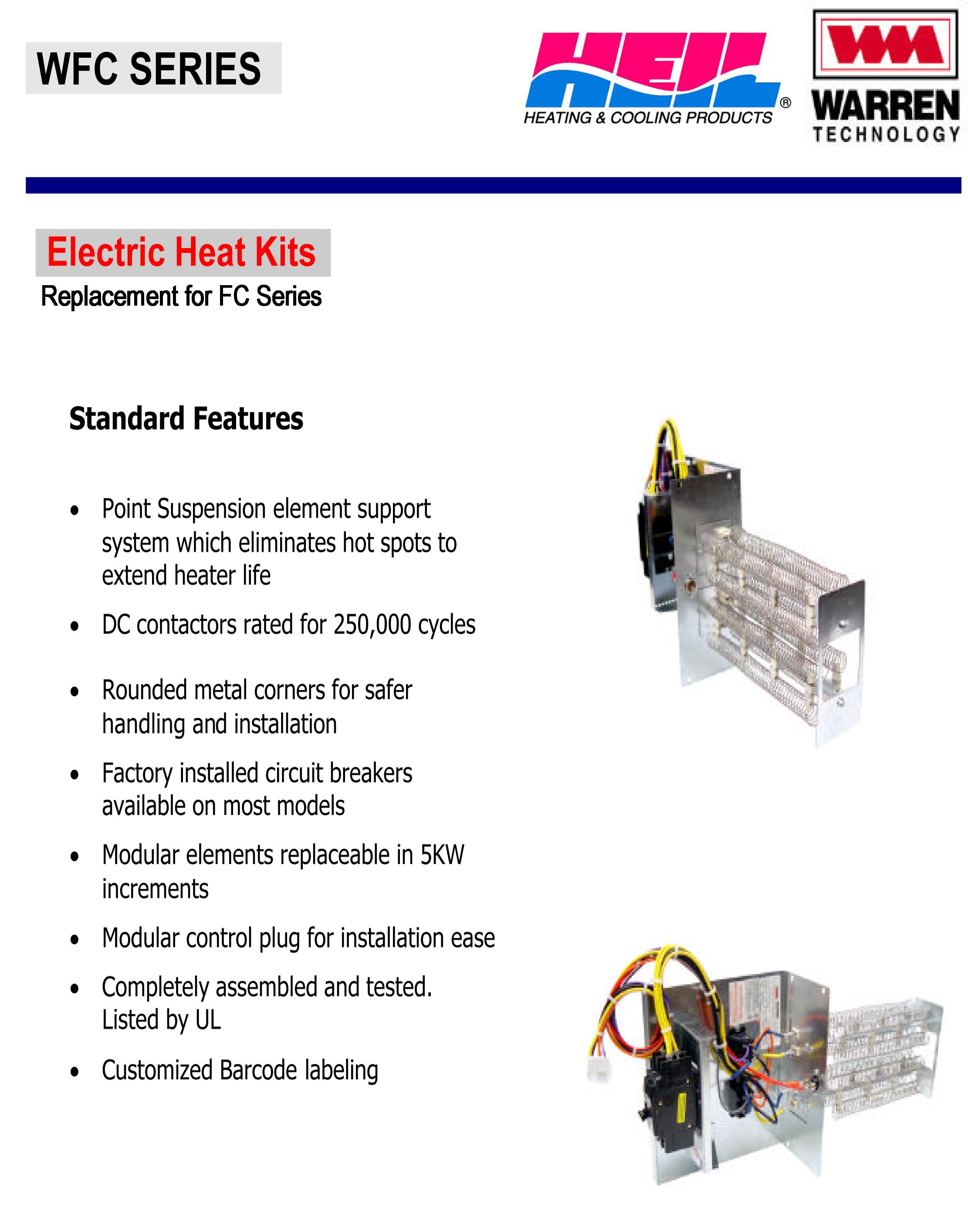 10 Kw Heat Strip For Heil Air Handlers Fcv  Fcp  Fcx  Ef