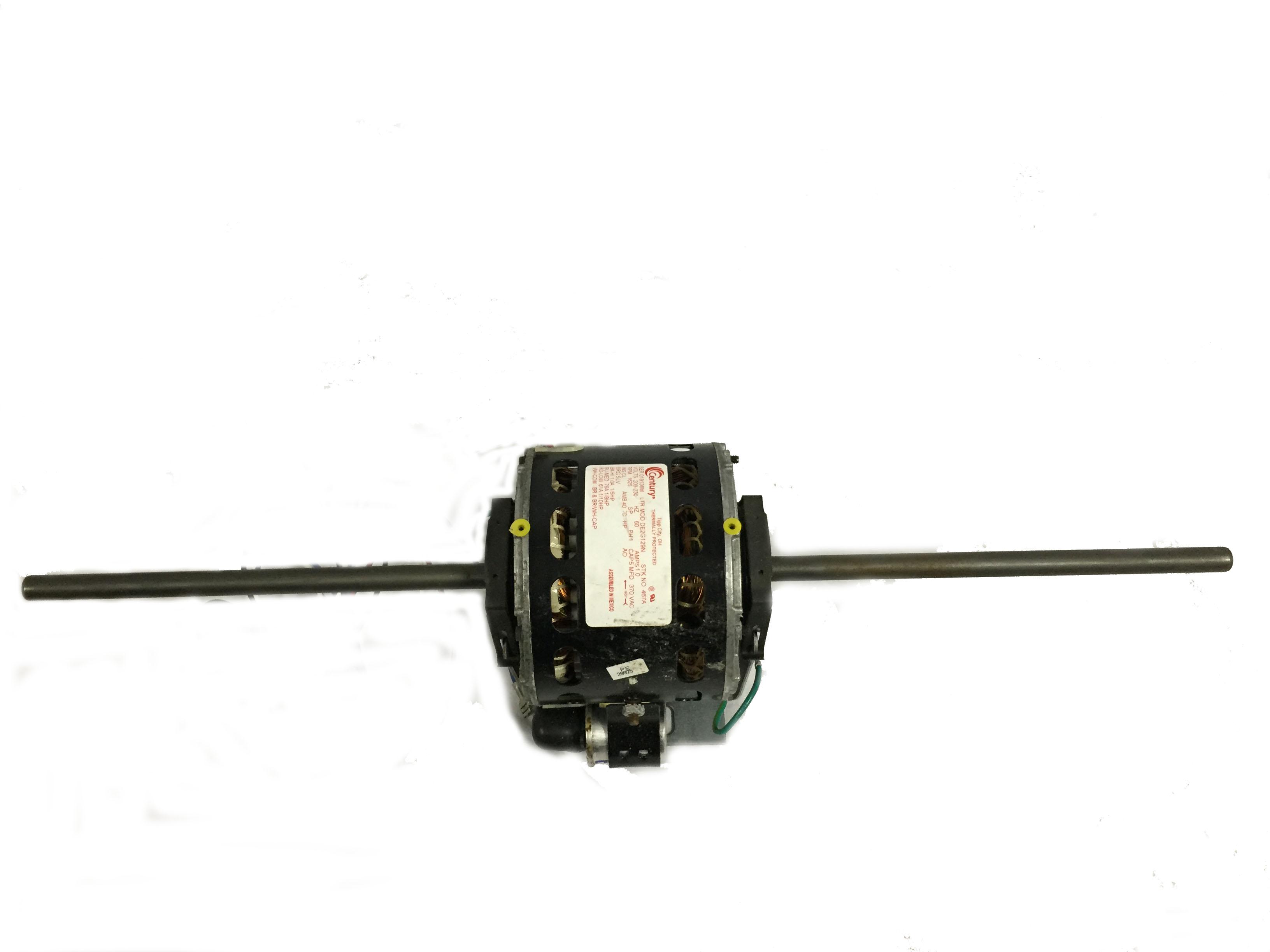 Double Shaft Fan  U0026 Blower Motor 1  5 10hp 1625rpm 208