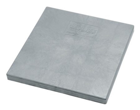 Condenser pad heavy duty plastic 36 x 36 for Outdoor ac unit pad