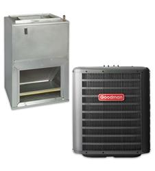 1 5 Ton Goodman 14 5 Seer R 410a Heat Pump System With