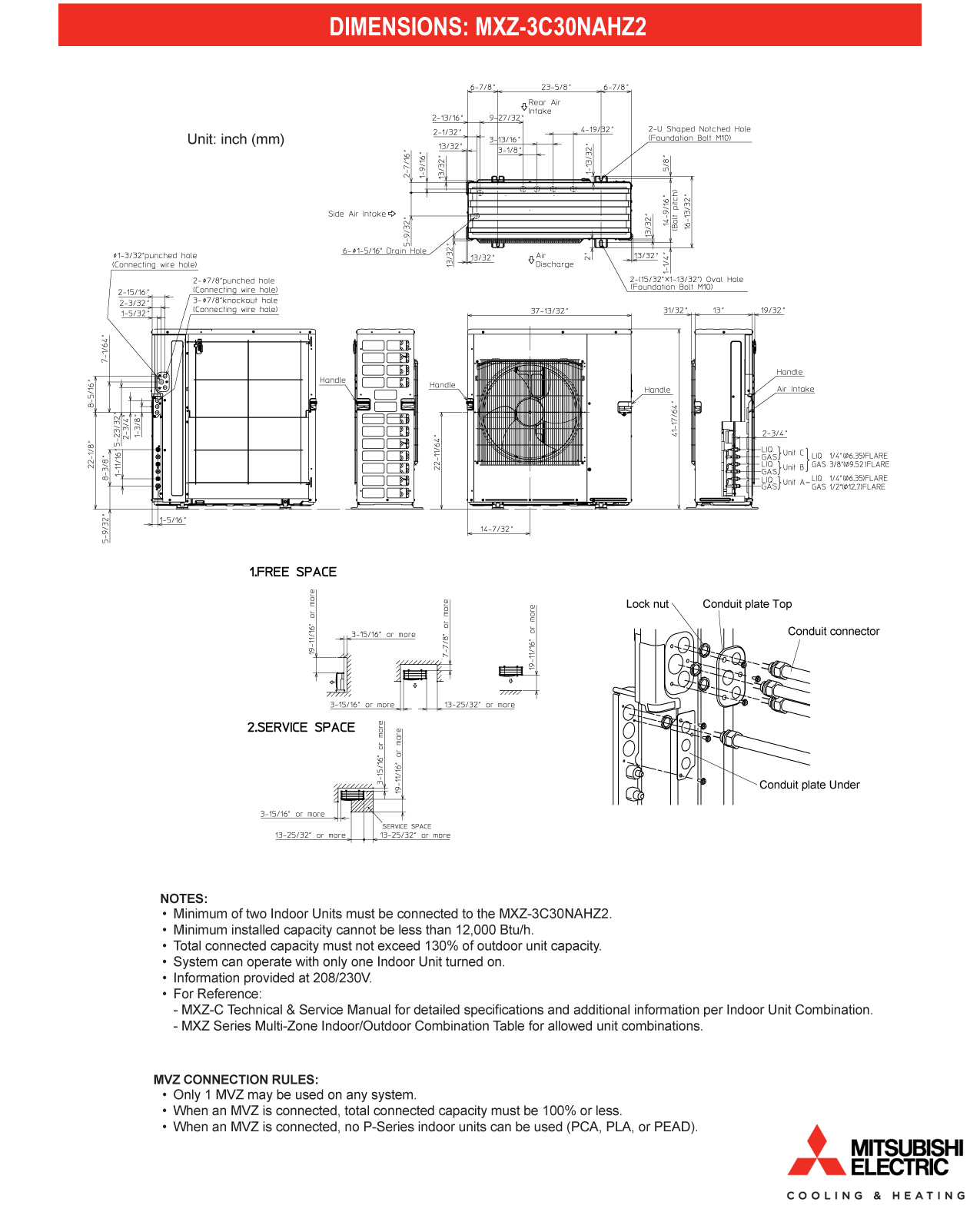 Mini Split Multi 3 Zone Mitsubishi H2i Hyper Heat Up To 18 Seer Intertherm Electric Furnace Wiring Diagram Share The Knownledge Start Now When Selecting Extra Options And Save Purchasing Together
