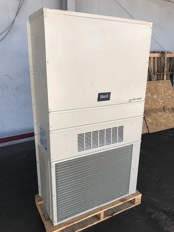 3 ton bard wall hung heat pump with back up electric heat. Black Bedroom Furniture Sets. Home Design Ideas
