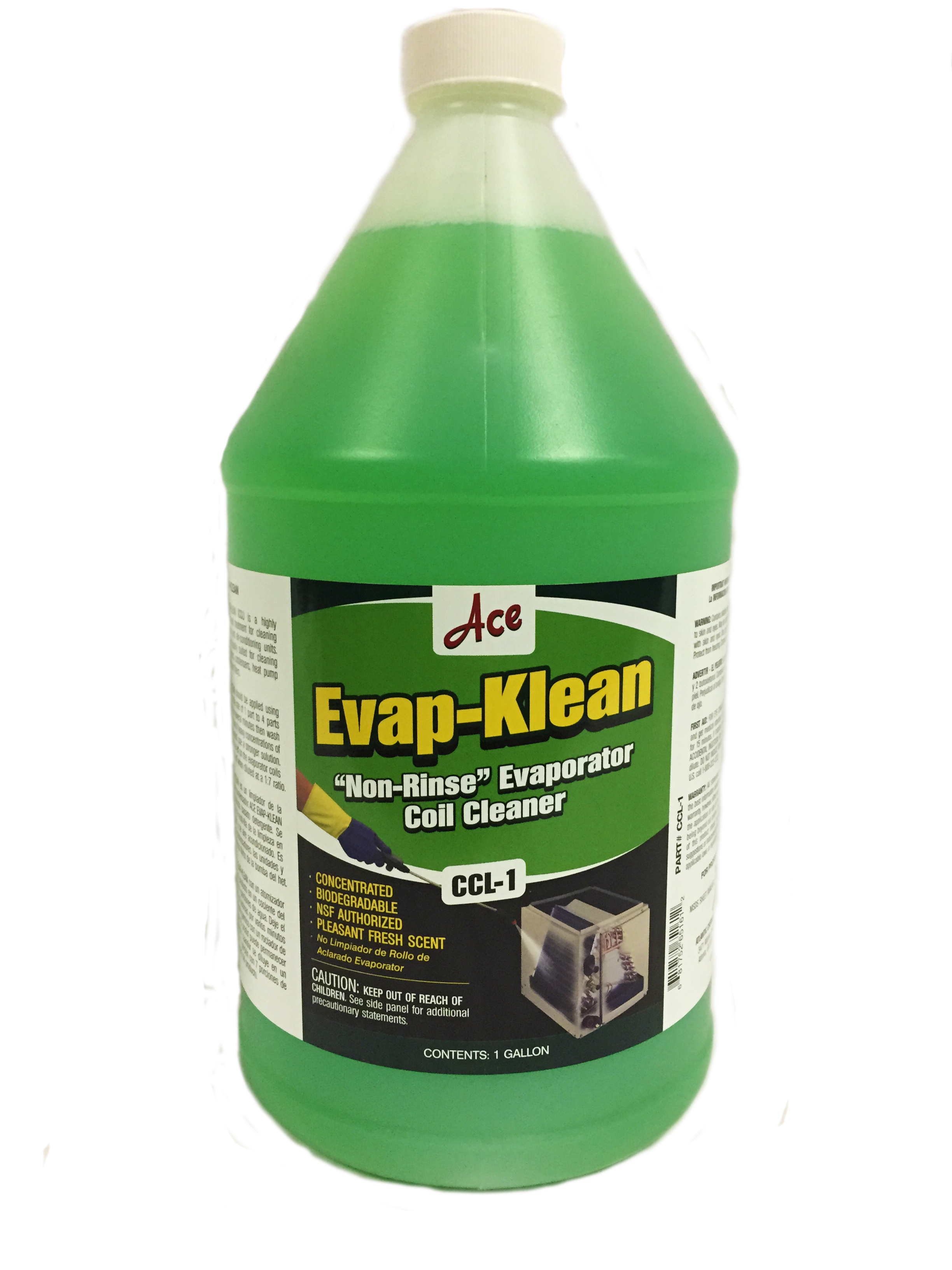 Evap Klean Non Rinse Evaporator Coil Cleaner Concentrate