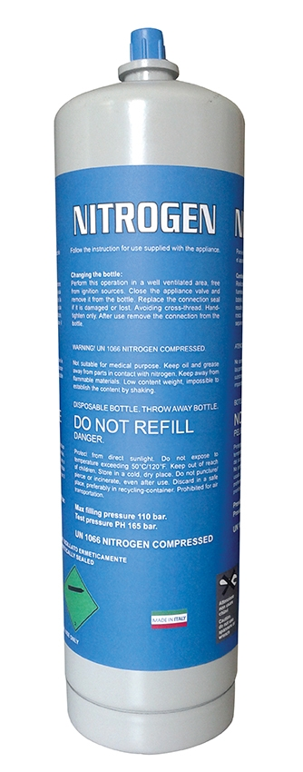 Nitrogen Disposable Tank 1 58oz Canister
