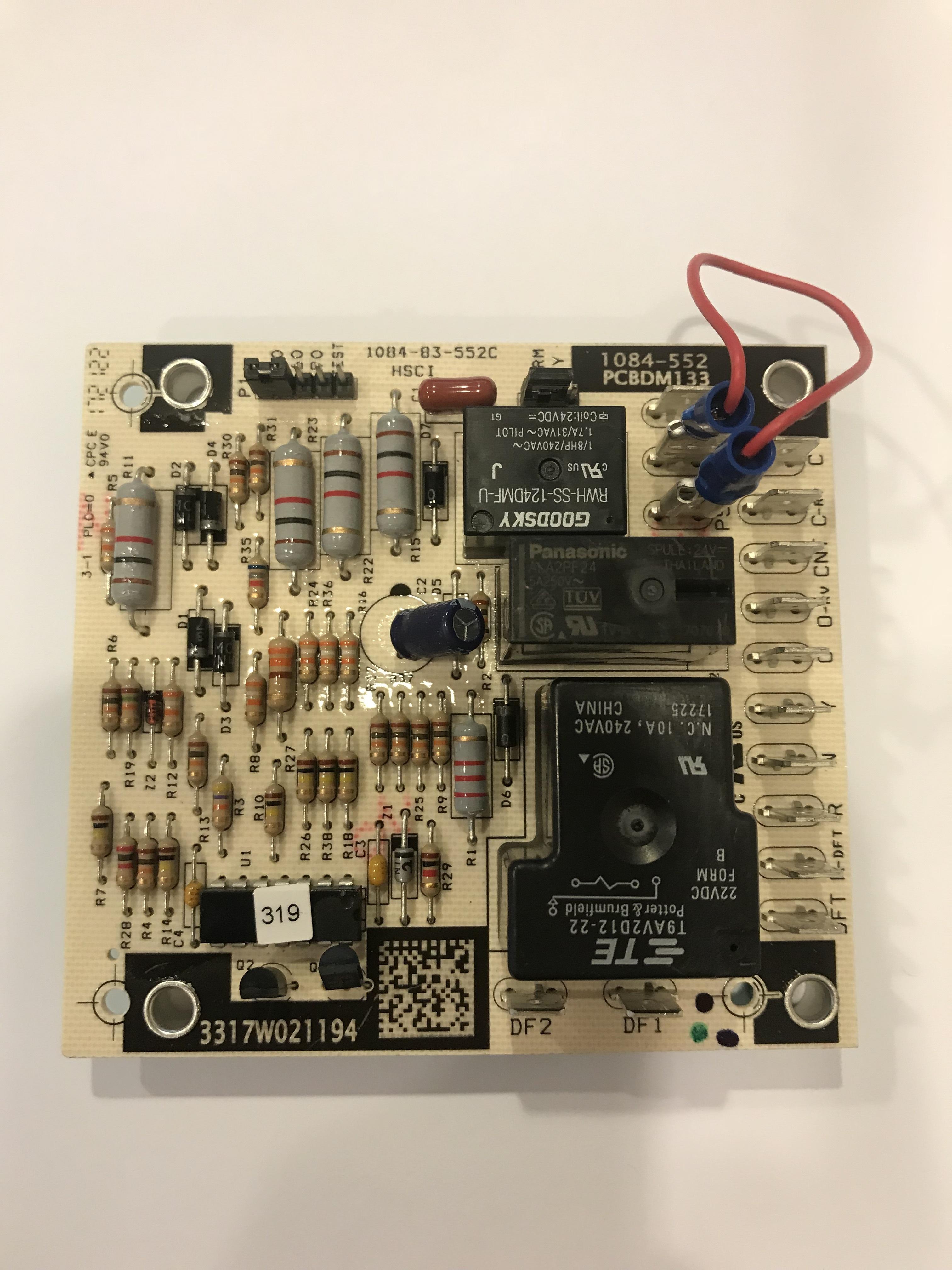Goodman  Daikin  Amana Control Board Pcbdm133s