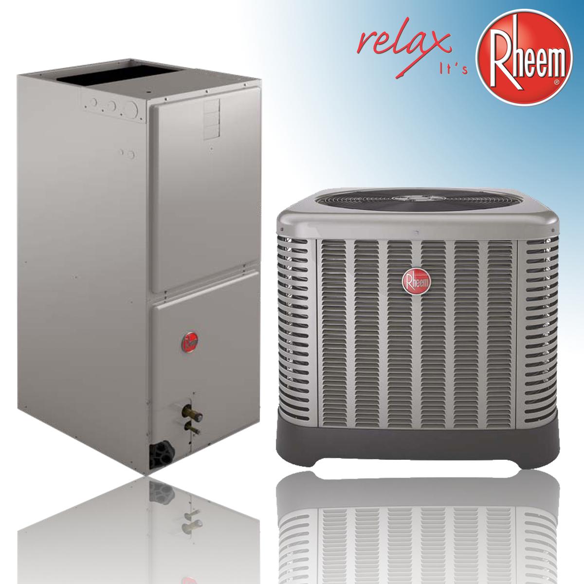 Rheem Equipment Split Systems Heat Pump Straight Cool 14 Seer