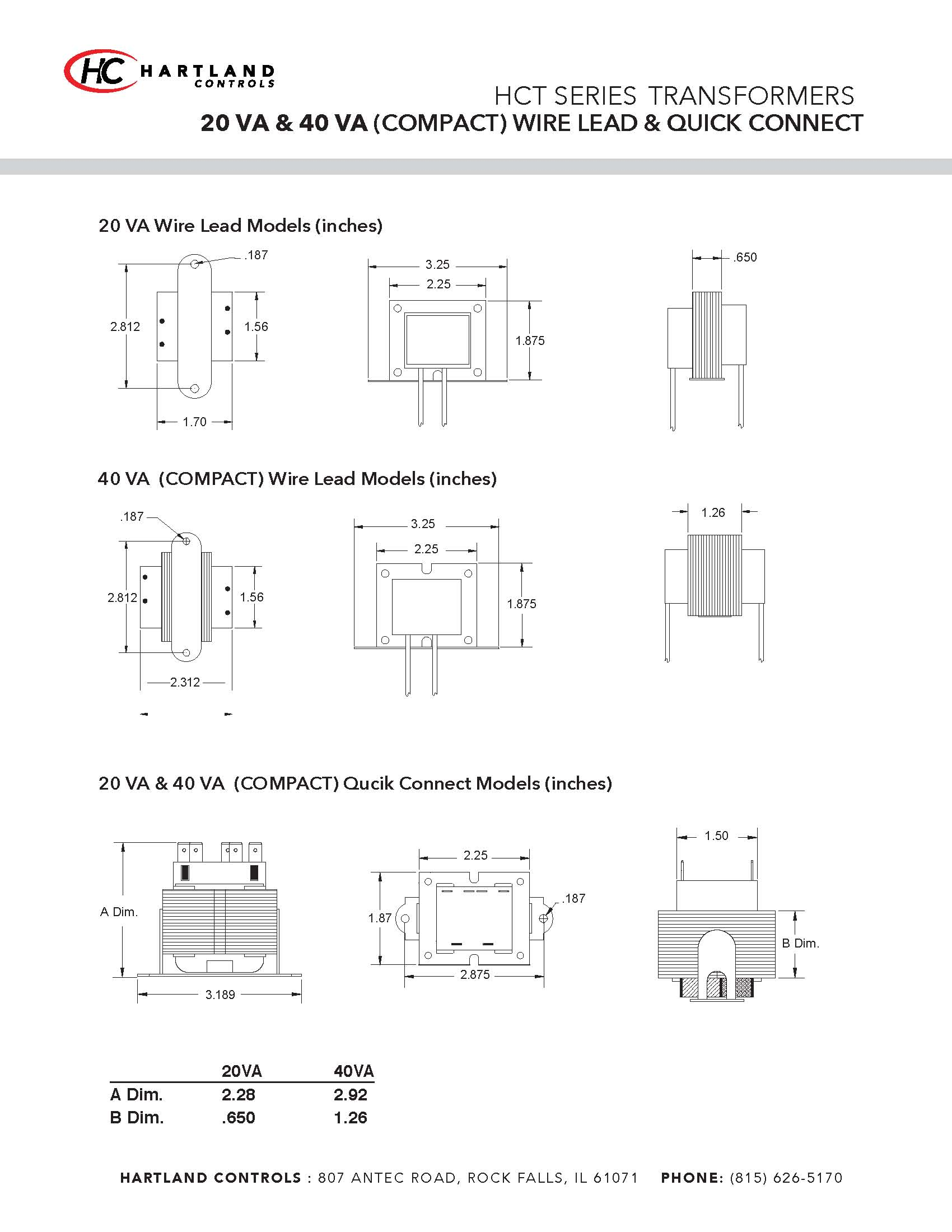 Transformer With Wire Leads And Quick Connect Universal 24 Vac 40 Va Fraser Johnston Furnace Wiring Diagram Designed Box Lug Terminations Connects For Easy Replacement In Your Application Coil Shields Provide Maximum Protection From All