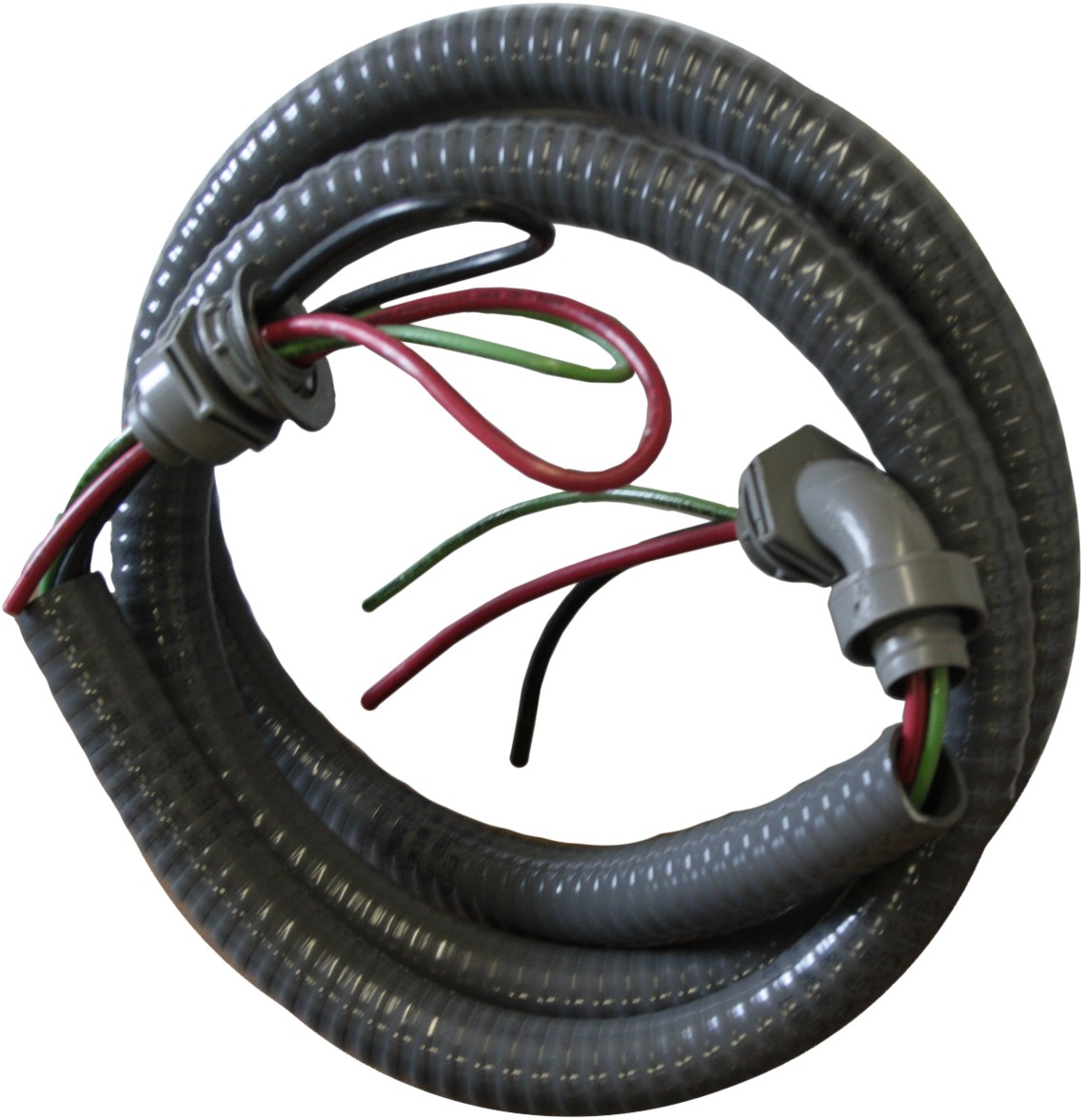 Water Proof Electrical Whip 8 Wire 3 Conductor 34 X 6ft