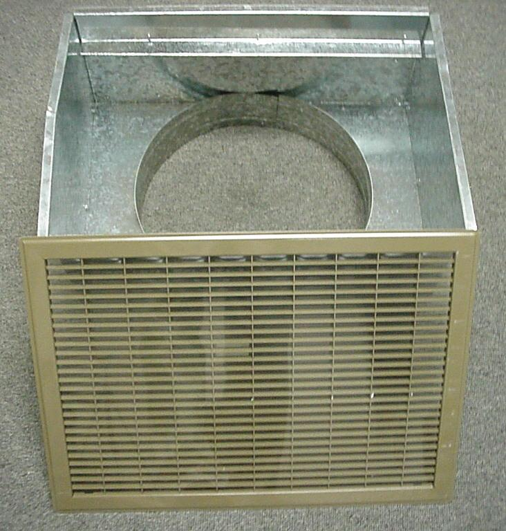 Mobile Home Air Filters : Mobile home floor return air filter box quot