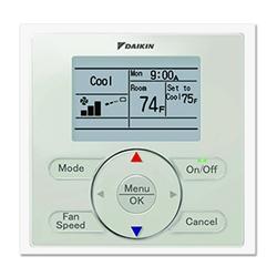Mini Split Daikin Wired Wall Controller Thermostat Brc1e73