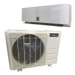 Mini Split 12 000 Btu Diamondair Do It Yourself 17 5 Seer