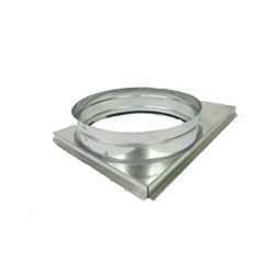 EcoTemp Square to Round Adapter 14-18 x 20-12 x 14 Round 66714820514